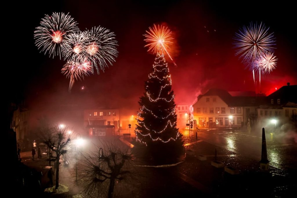 Silvester 2021 Deutschland